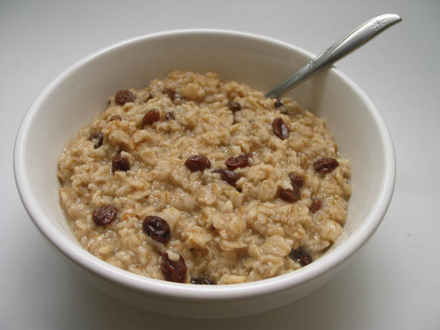 Hot Cereal on Cold Days