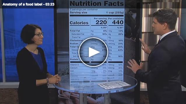 Anatomy of a Food Label- Fox19 Lisa Andrews, RD