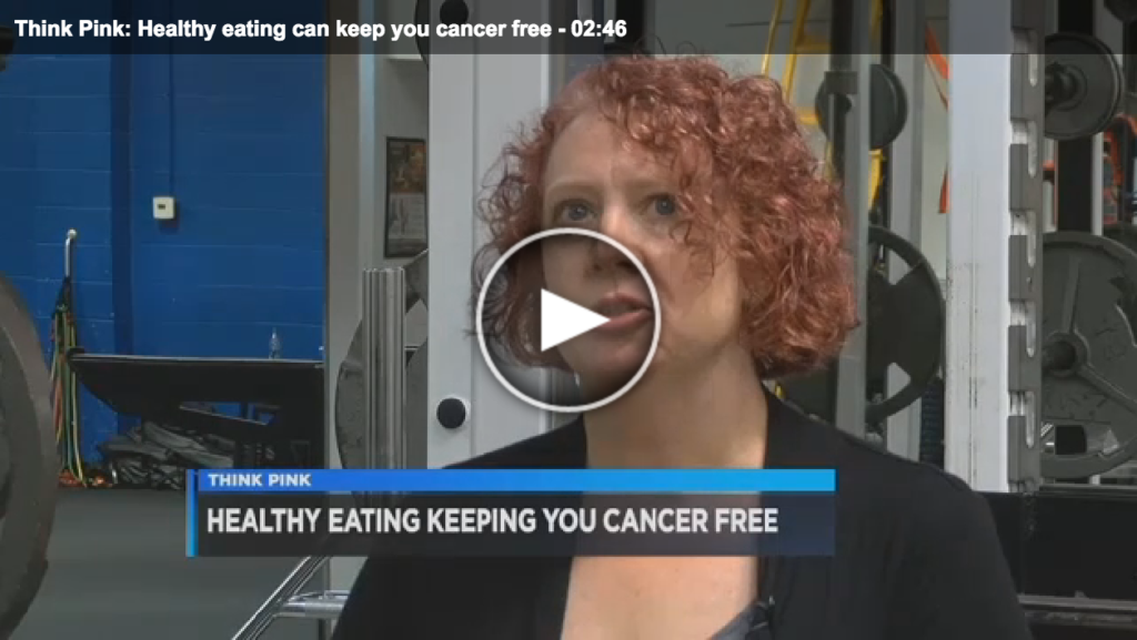 Eating Healthy Can Keep You Cancer Free Lisa Andrews, RD Fox19