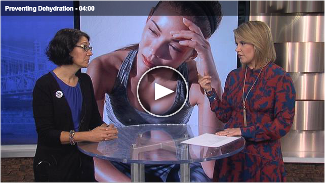 Lisa Andrews, RD on Fox19 Preventing Dehydration
