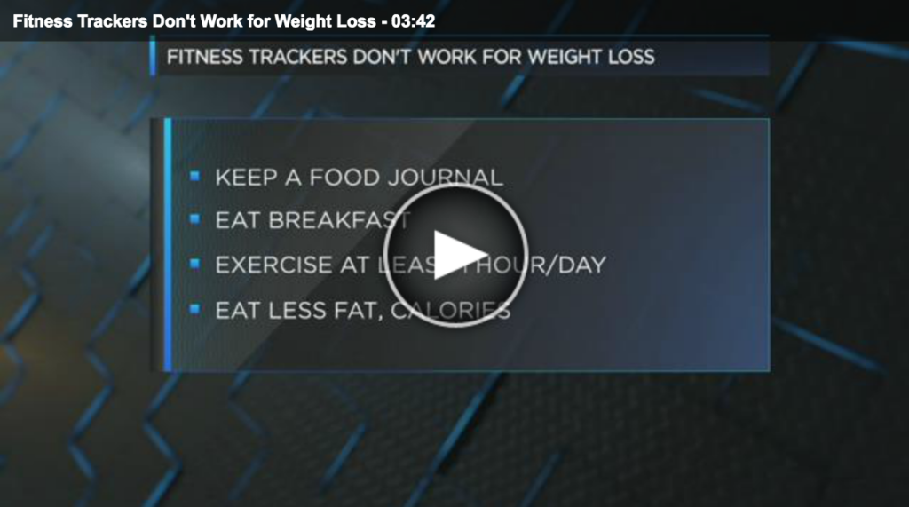 Lisa Andrews RD Fox19 News Why Fitness Trackers Don't Work for Weight Loss