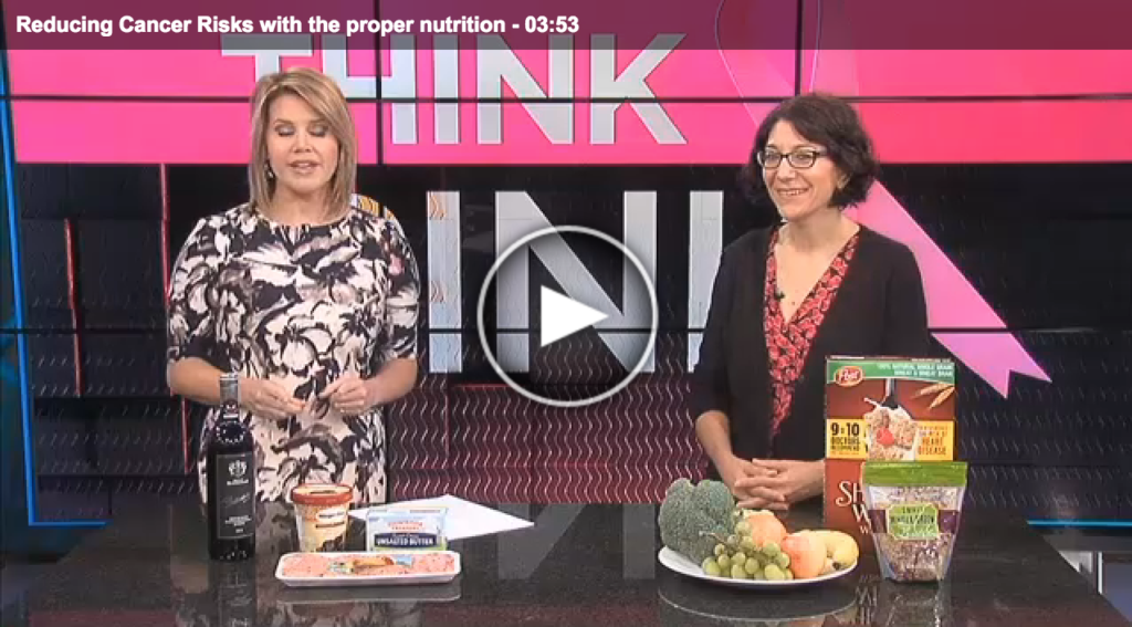 Lisa Andrews, RD Fox19 Reducing Cancer Risks With Proper Nutrition