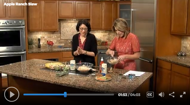 Lisa Andrews, RD on Fox19 Memorial Day Recipes