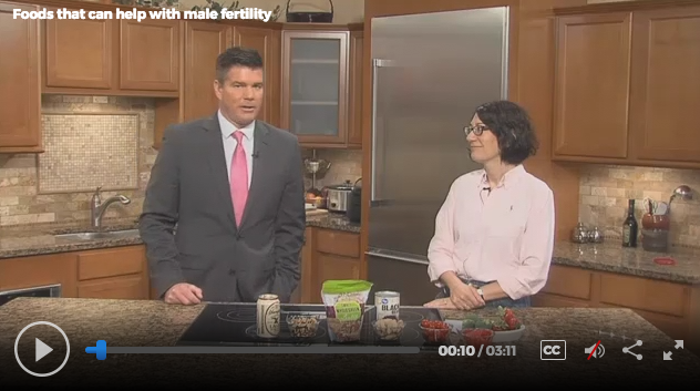 Foods that Help with Male Fertility, Lisa Andrews, RD on Fox19