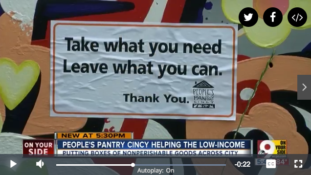 Lisa Andrews, RD People's Pantry on Channel 9 WCPO