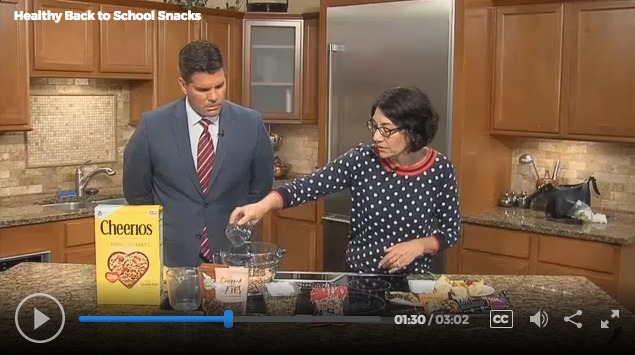 Healthy Back to School Snacks with Lisa Andrews, RD on Fox19