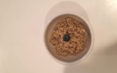 Ginger Cinnamon Breakfast Quinoa