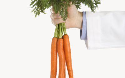 Honey glazed ginger carrots