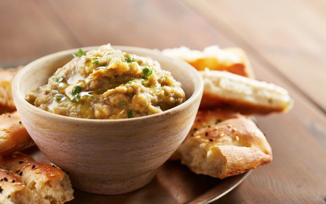 Pesto Hummus Dip