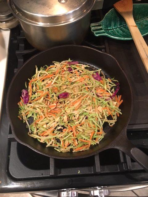 Asian broccoli sautee