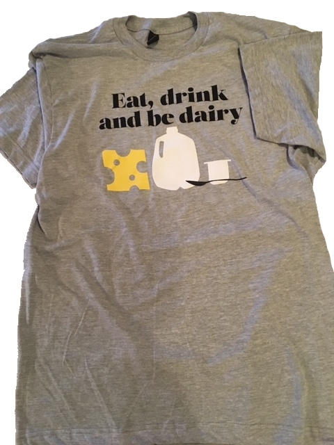 Eat Drink and Be Dairy T by Lisa Andrews, RD