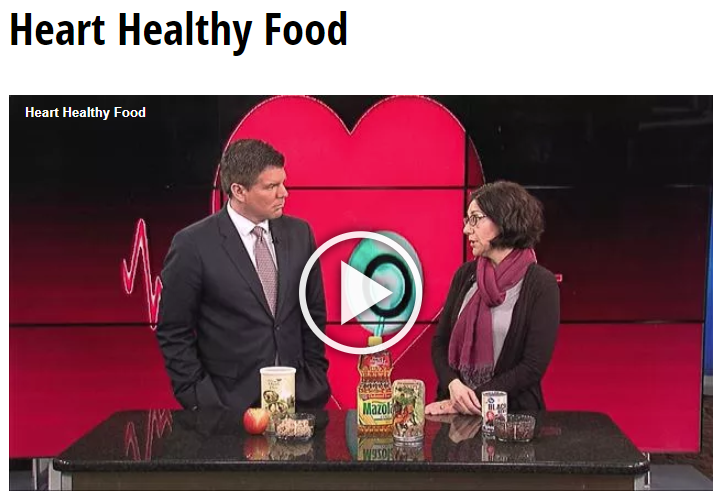 Lisa Andrews, RD on Fox19-Heart Healthy Food