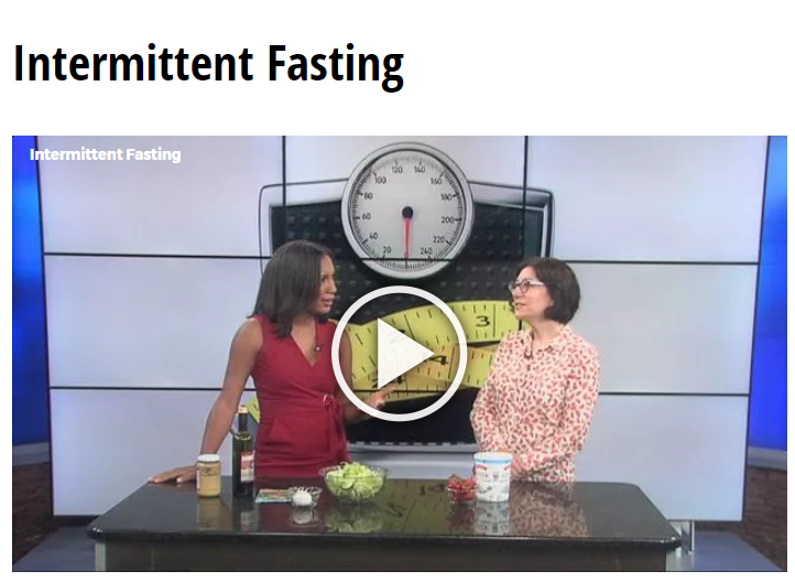 Lisa Andrews, RD on Fox19 Intermittent Fasting