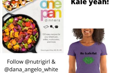Cookbook & Be Kaleful tee Giveaway!