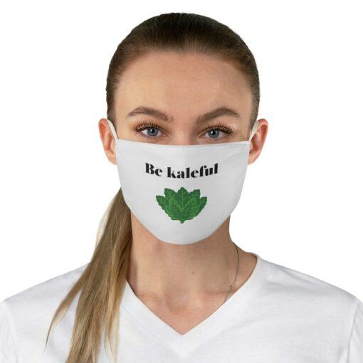 Food pun be kaleful mask