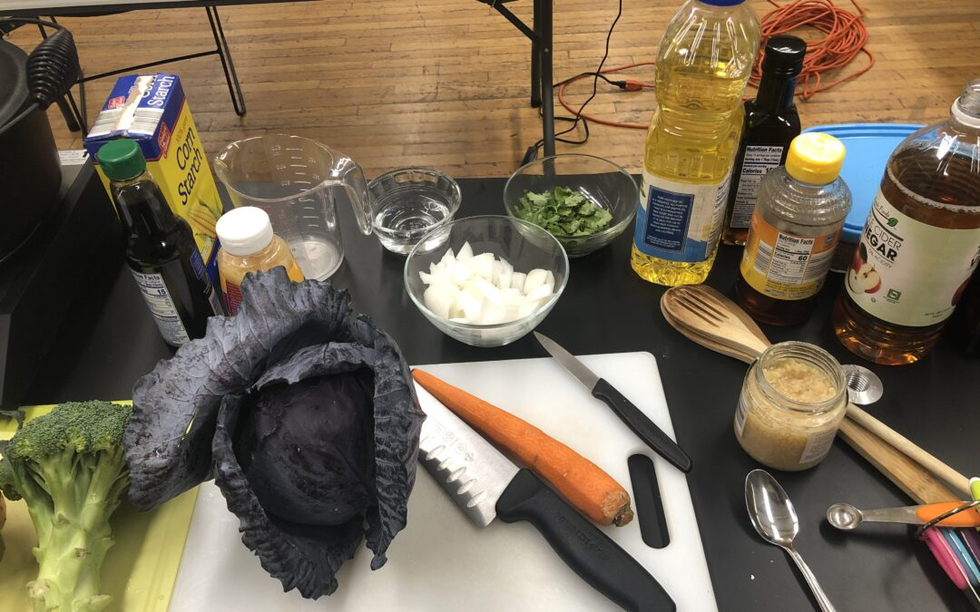 Kitchen hacks- making a great Asian stir fry