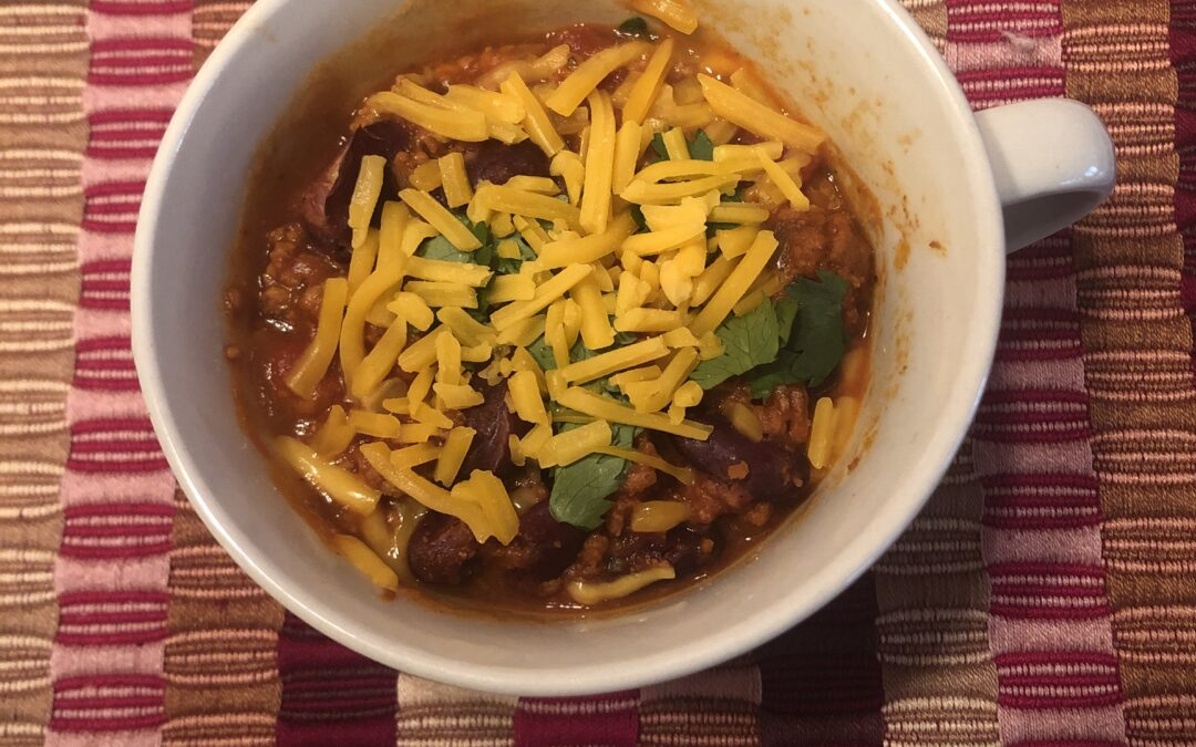 Easy, delicious turkey chili