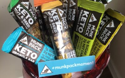 Delicious Keto snack bars by Munk Pack